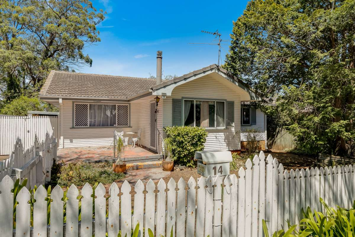 Main view of Homely house listing, 14 Patricia Street, Mount Lofty, QLD 4350
