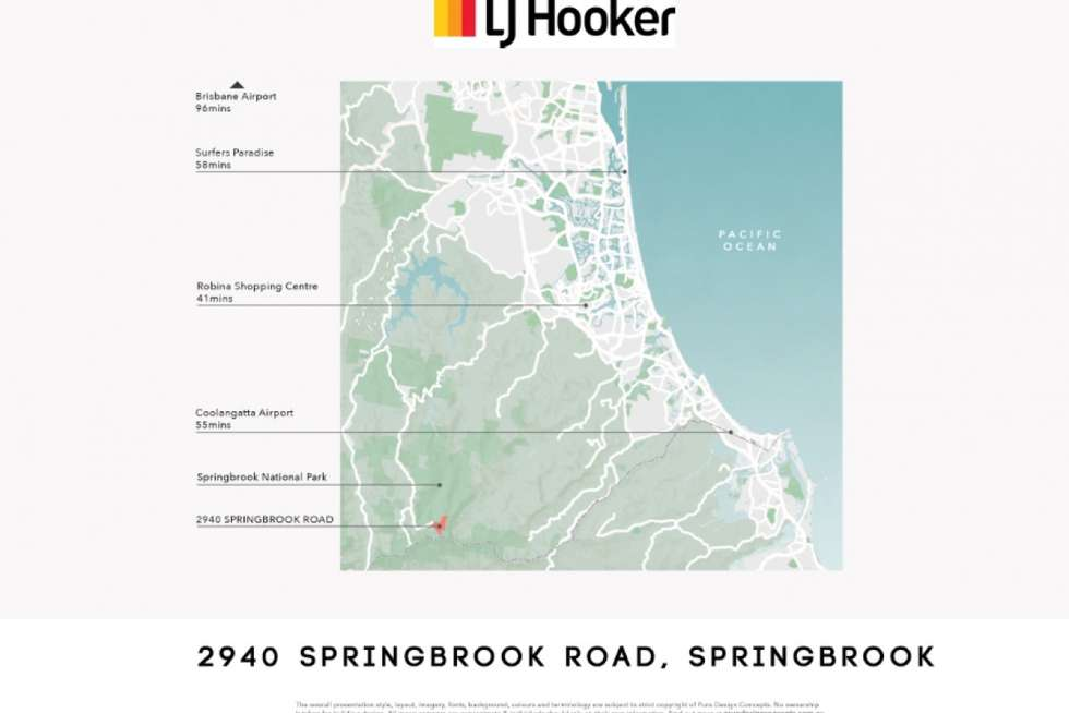Second view of Homely residentialLand listing, 2980 Springbrook Road, Springbrook QLD 4213