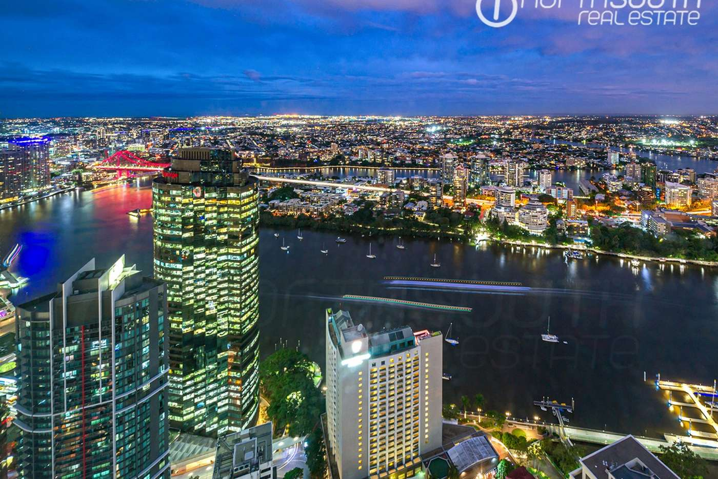 Main view of Homely apartment listing, 6201/222 Margaret Street, Brisbane City QLD 4000