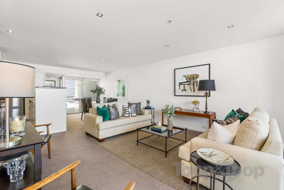 Second view of Homely apartment listing, 502/268 Flinders Street, Adelaide SA 5000