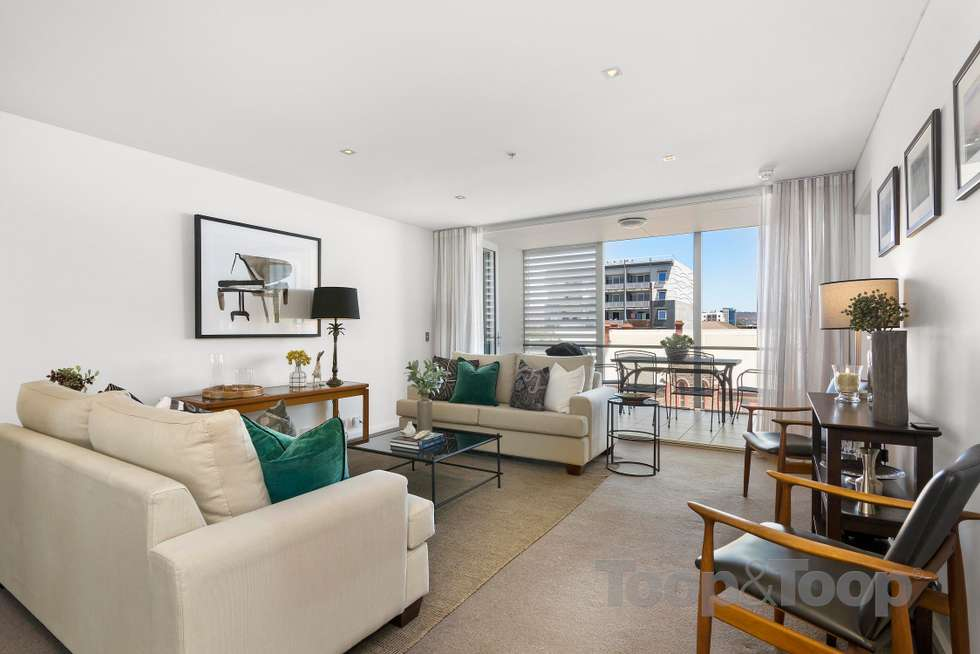 Third view of Homely apartment listing, 502/268 Flinders Street, Adelaide SA 5000