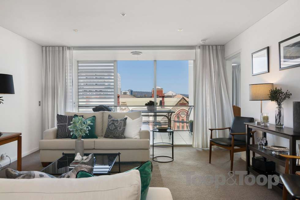 Fourth view of Homely apartment listing, 502/268 Flinders Street, Adelaide SA 5000