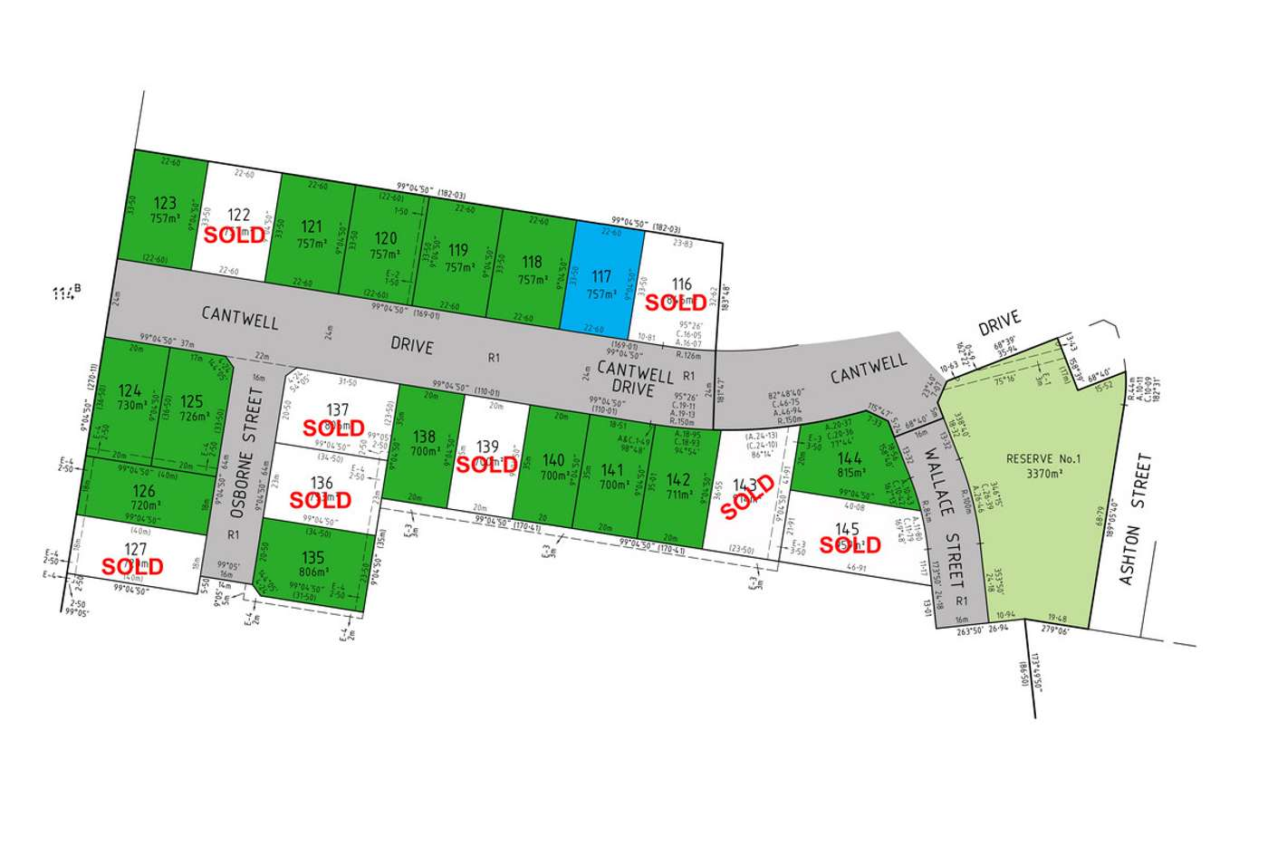 Main view of Homely residentialLand listing, LOT 117 Cantwell Drive, Sale VIC 3850