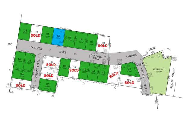 LOT 120 Cantwell Drive, Sale VIC 3850
