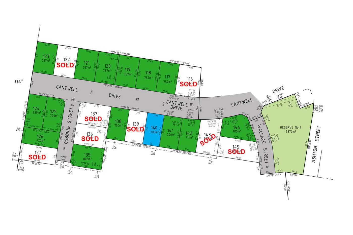 Main view of Homely residentialLand listing, LOT 140 Cantwell Drive, Sale VIC 3850