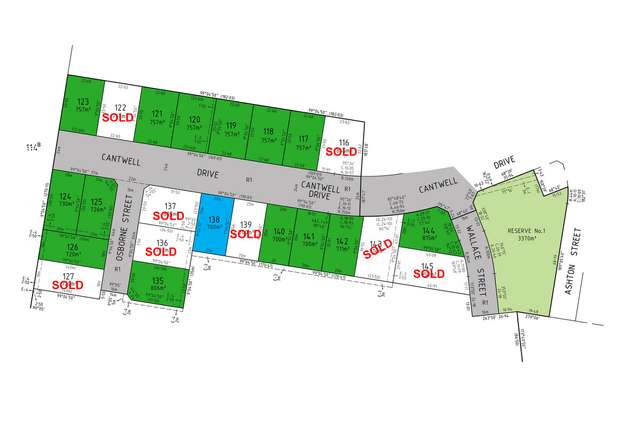 LOT 138 Cantwell Drive, Sale VIC 3850