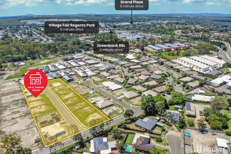 Third view of Homely residentialLand listing, LOT 10/4 Grande Street, Hillcrest QLD 4118