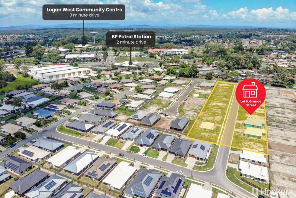 Fourth view of Homely residentialLand listing, LOT 10/4 Grande Street, Hillcrest QLD 4118