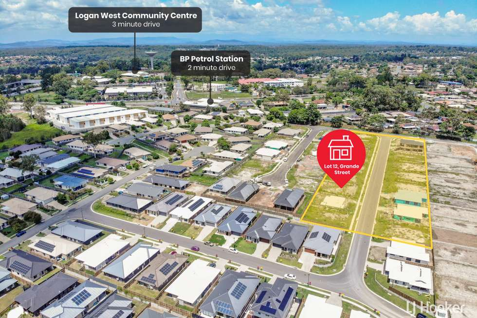 Second view of Homely residentialLand listing, LOT 9/8 Grande Street, Hillcrest QLD 4118