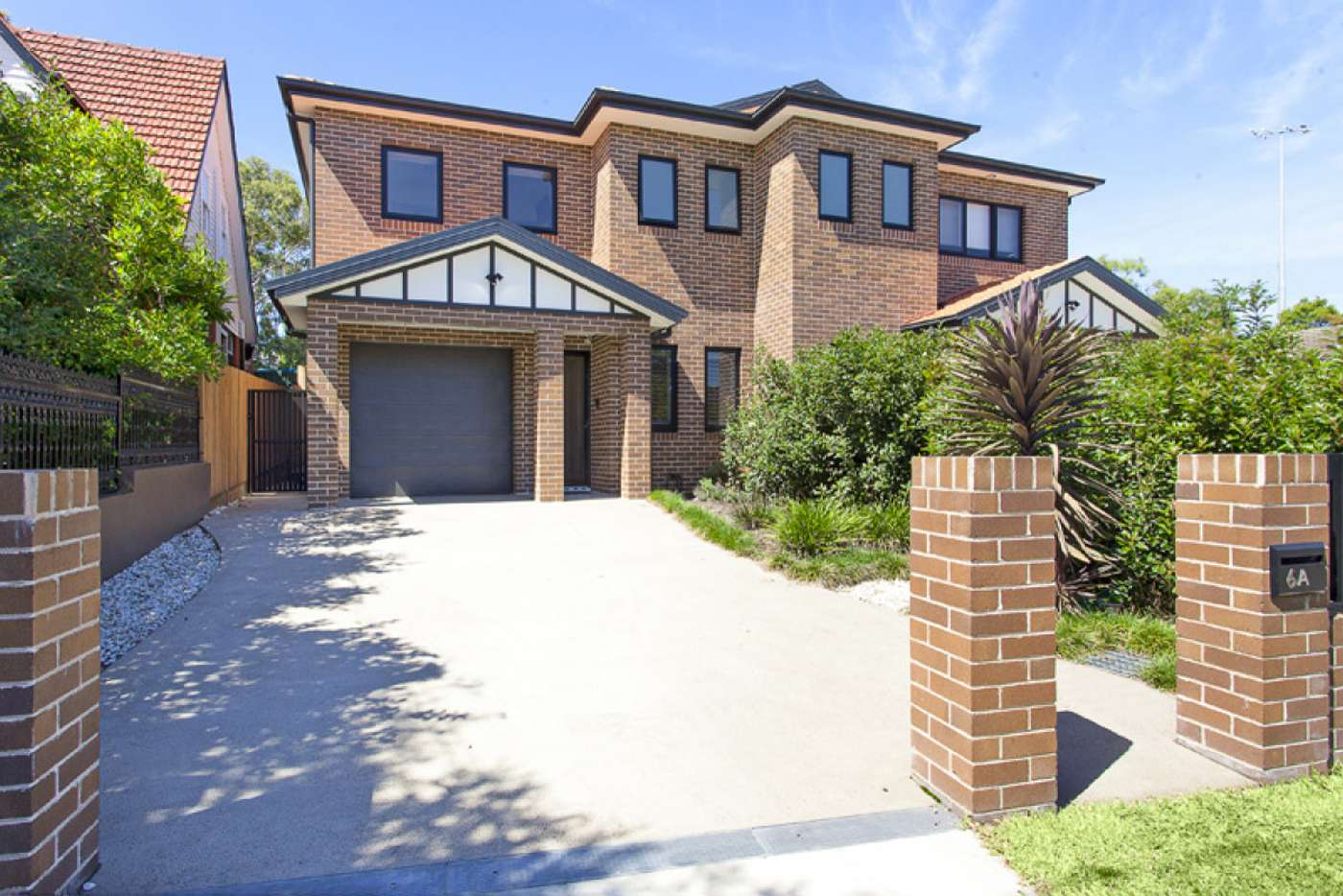 Main view of Homely semiDetached listing, 6A Whitfield Avenue, Ashbury NSW 2193