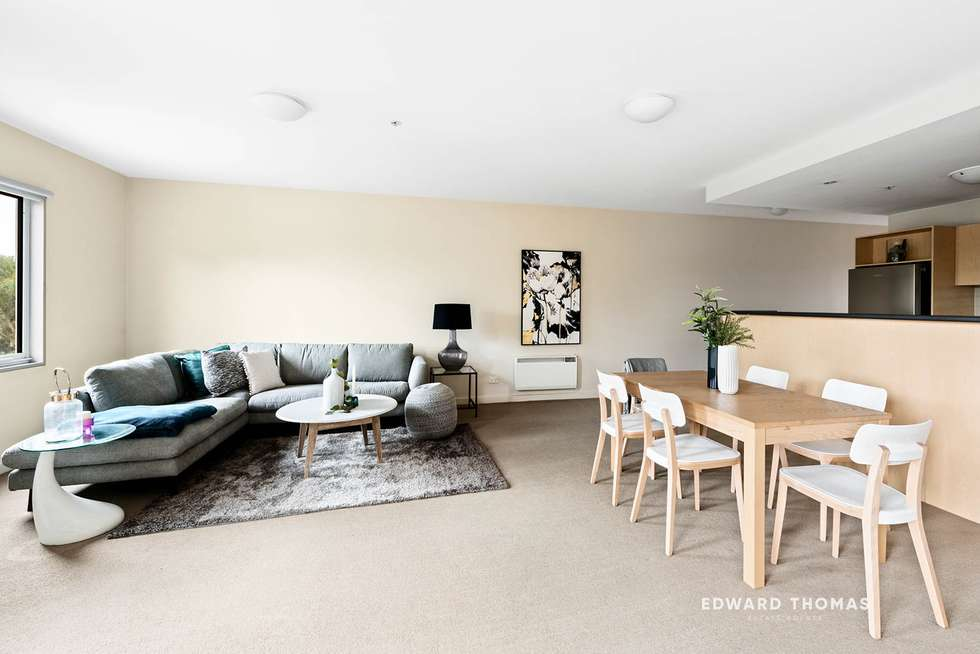 Second view of Homely apartment listing, 19/1 Gatehouse Drive, Kensington VIC 3031