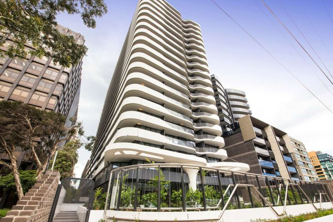 Main view of Homely apartment listing, 1003/12 Queens Road, Melbourne VIC 3004