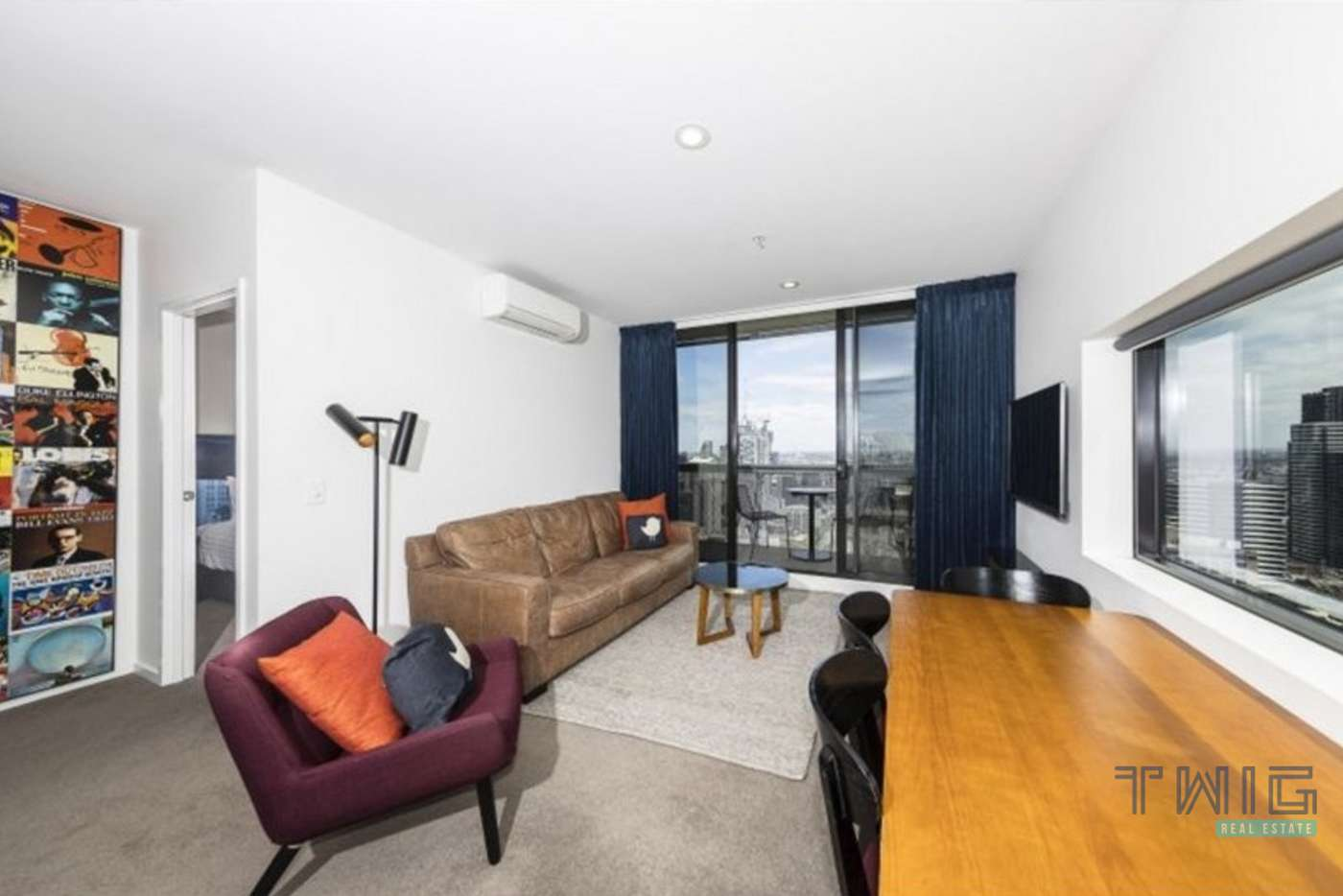 Main view of Homely apartment listing, 2 Bedroom/350 William Street, Melbourne VIC 3000