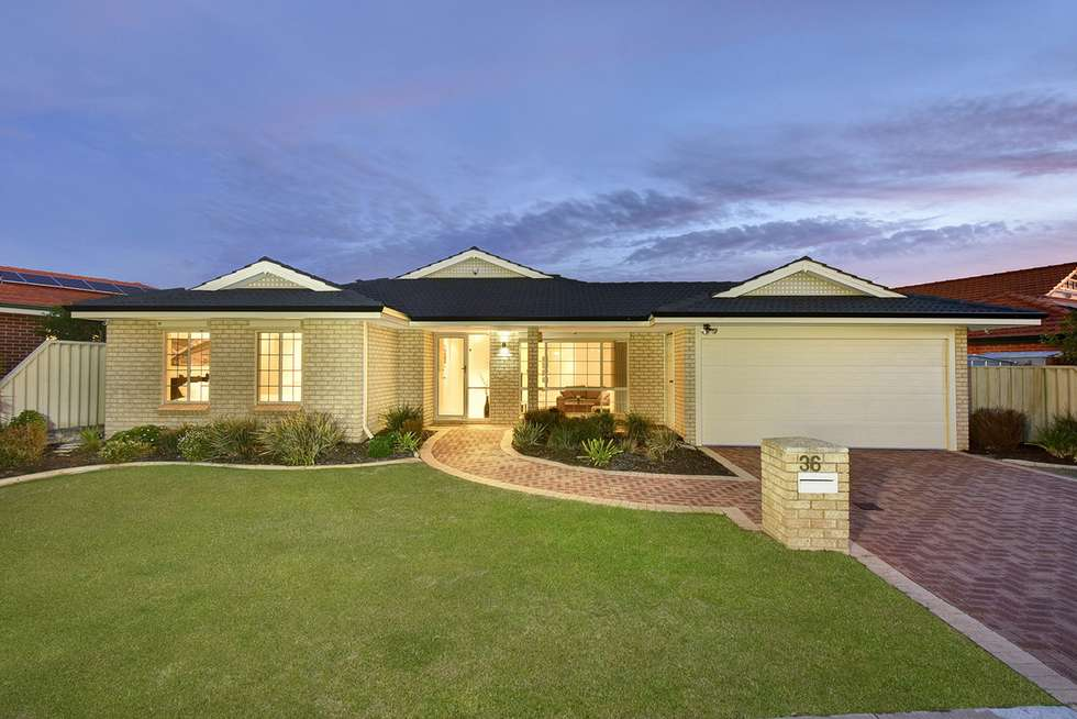 Third view of Homely house listing, 36 Shalimar Rise, Currambine WA 6028