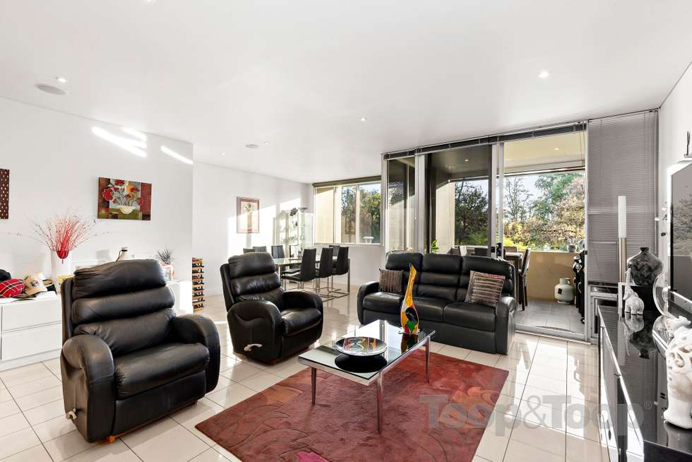Third view of Homely apartment listing, 8A/8 Hurtle Square, Adelaide SA 5000