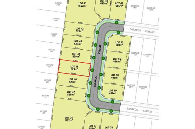 LOT 45 Baltimore Park Estate, Wangaratta VIC 3677