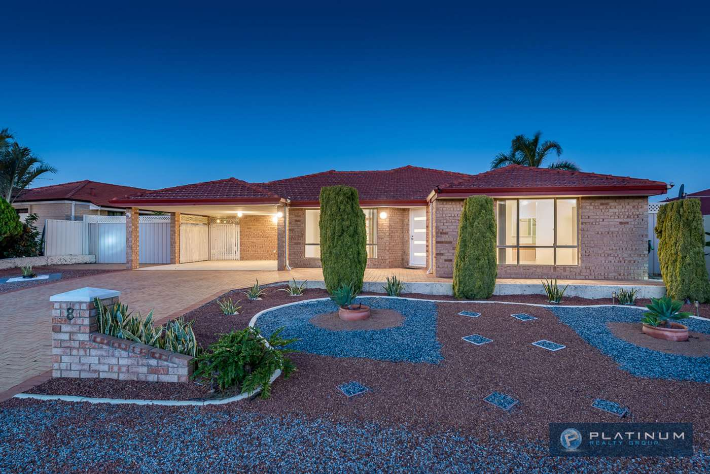 Main view of Homely house listing, 8 Shenandoah Mews, Currambine WA 6028