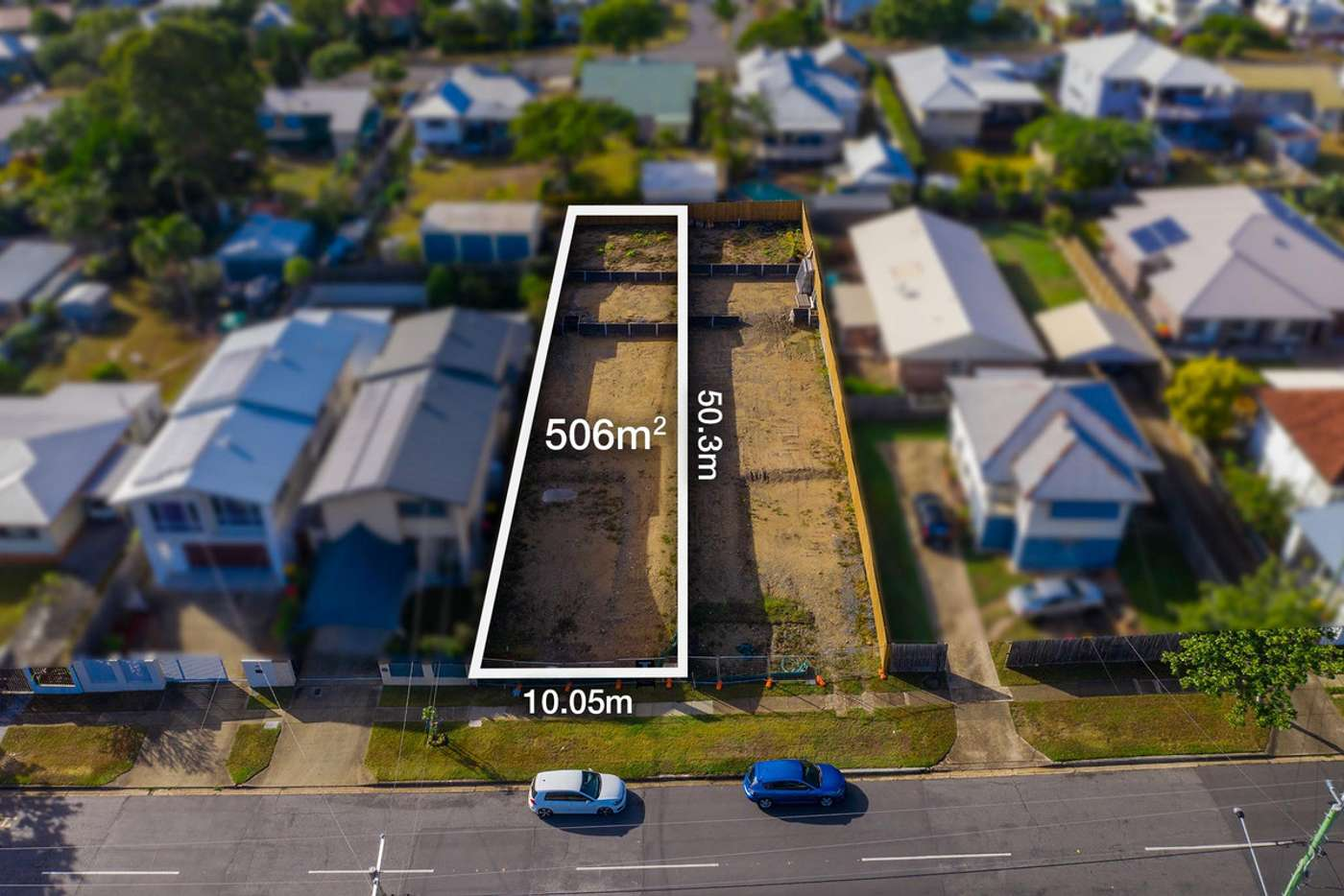 Main view of Homely residentialLand listing, 68 Gallipoli Road, Carina Heights QLD 4152