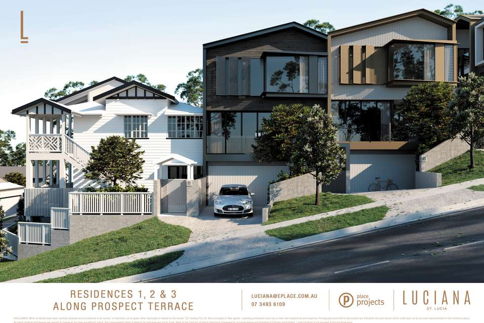 Second view of Homely townhouse listing, 1/12-18 Prospect Terrace, St Lucia QLD 4067