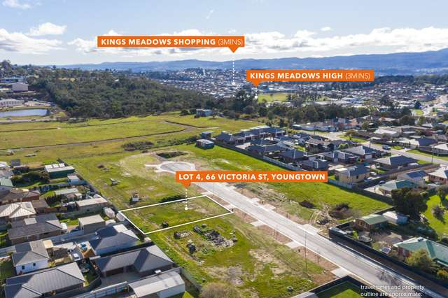 LOT 4/66 Victoria Street, Youngtown TAS 7249