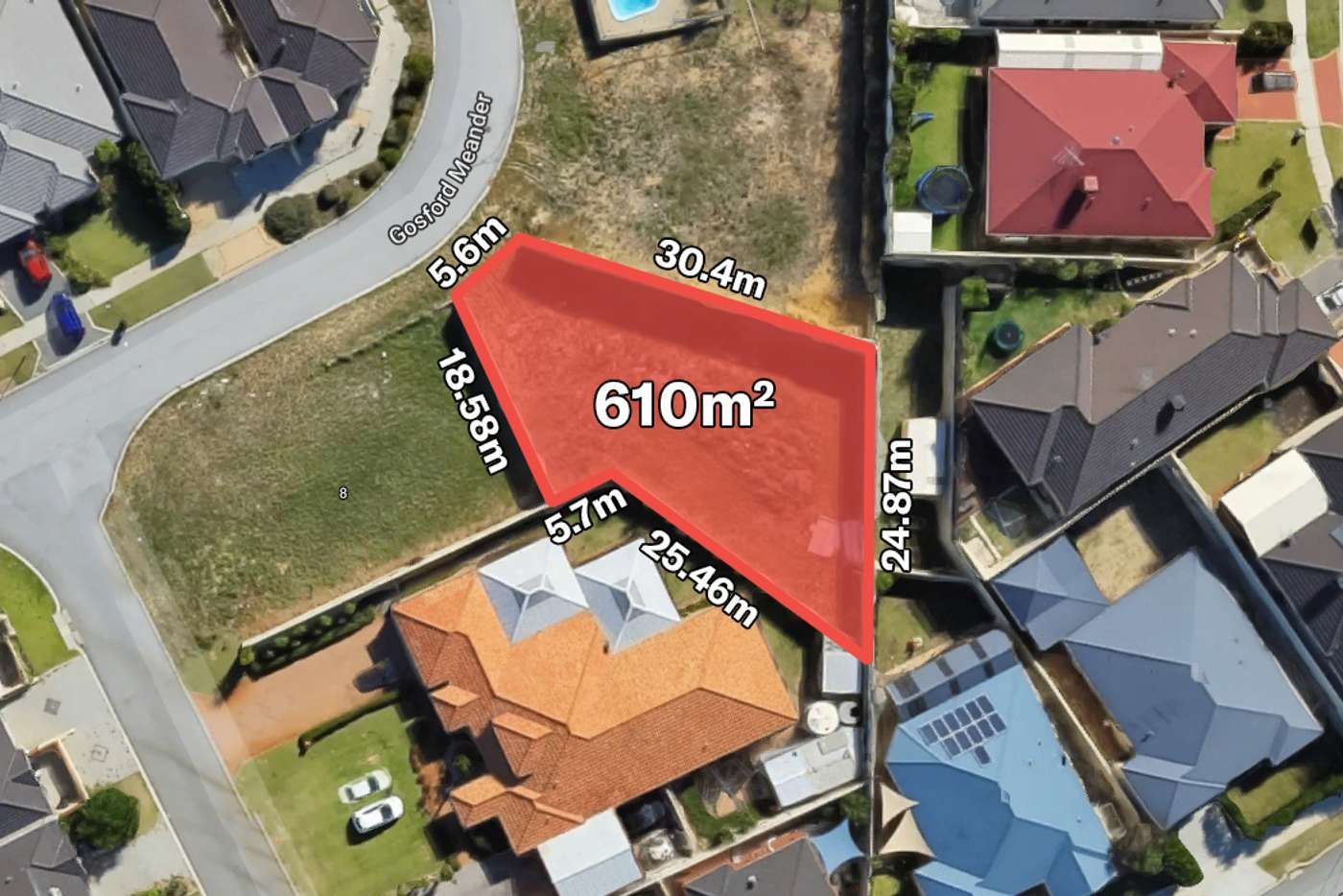 Main view of Homely residentialLand listing, 46 Gosford Meander, Ashby WA 6065