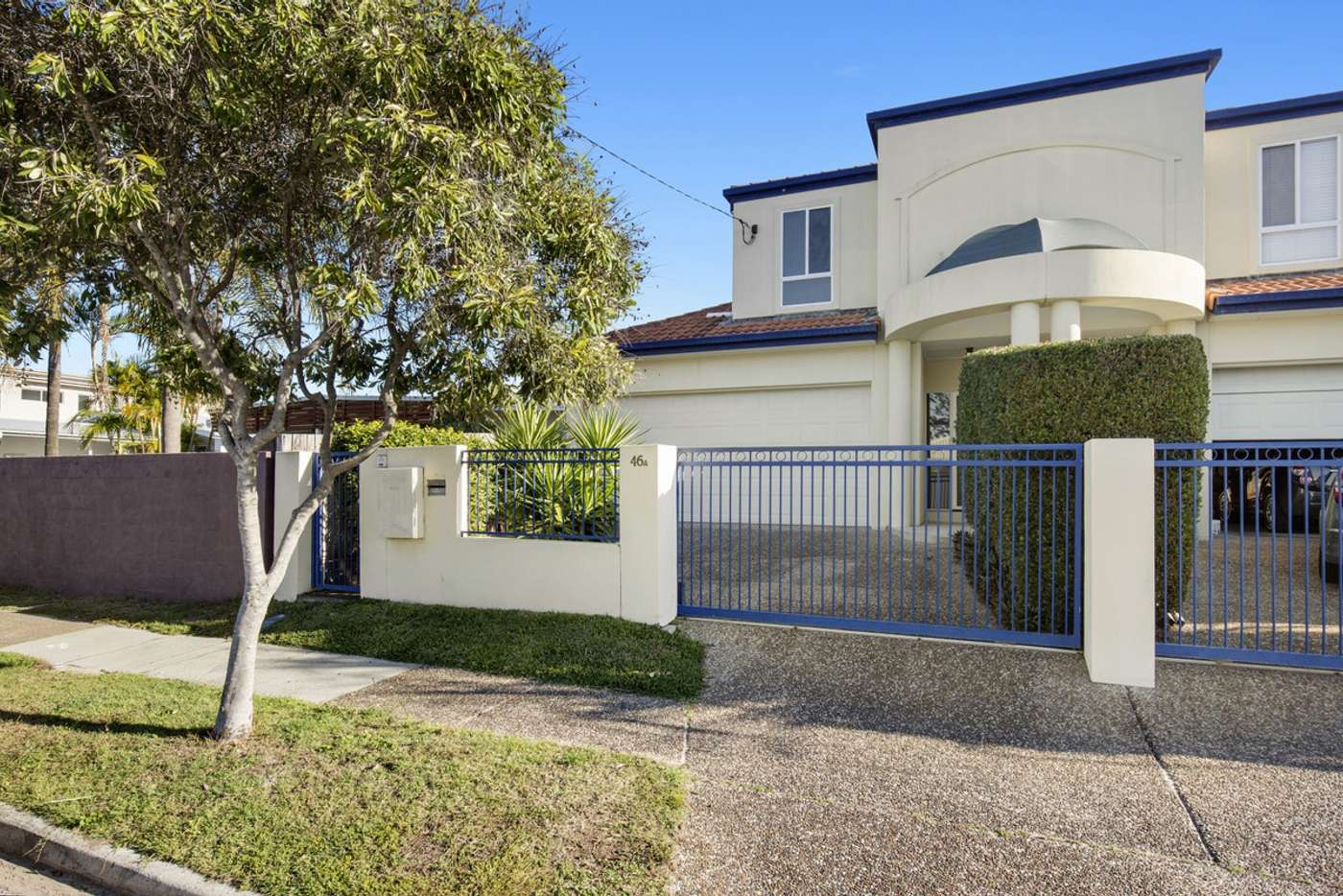 Main view of Homely semiDetached listing, 1/46 Albion Avenue, Miami QLD 4220