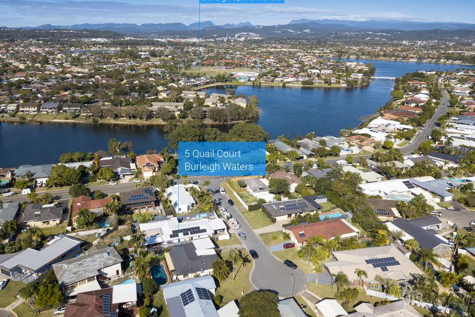 Fourth view of Homely house listing, 5 Quail Court, Burleigh Waters QLD 4220