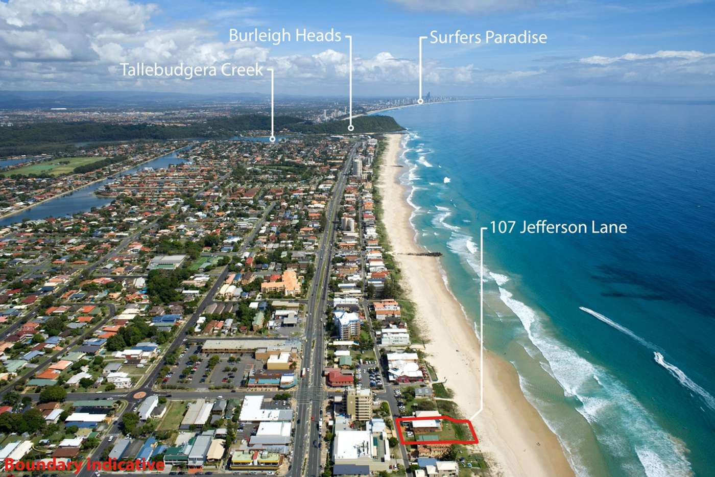 Sixth view of Homely house listing, 107 Jefferson Lane, Palm Beach QLD 4221