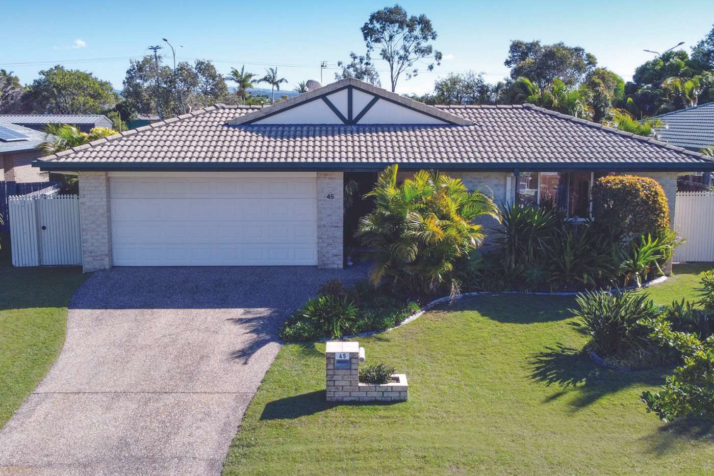 Main view of Homely house listing, 45 Harrier Drive, Burleigh Waters QLD 4220