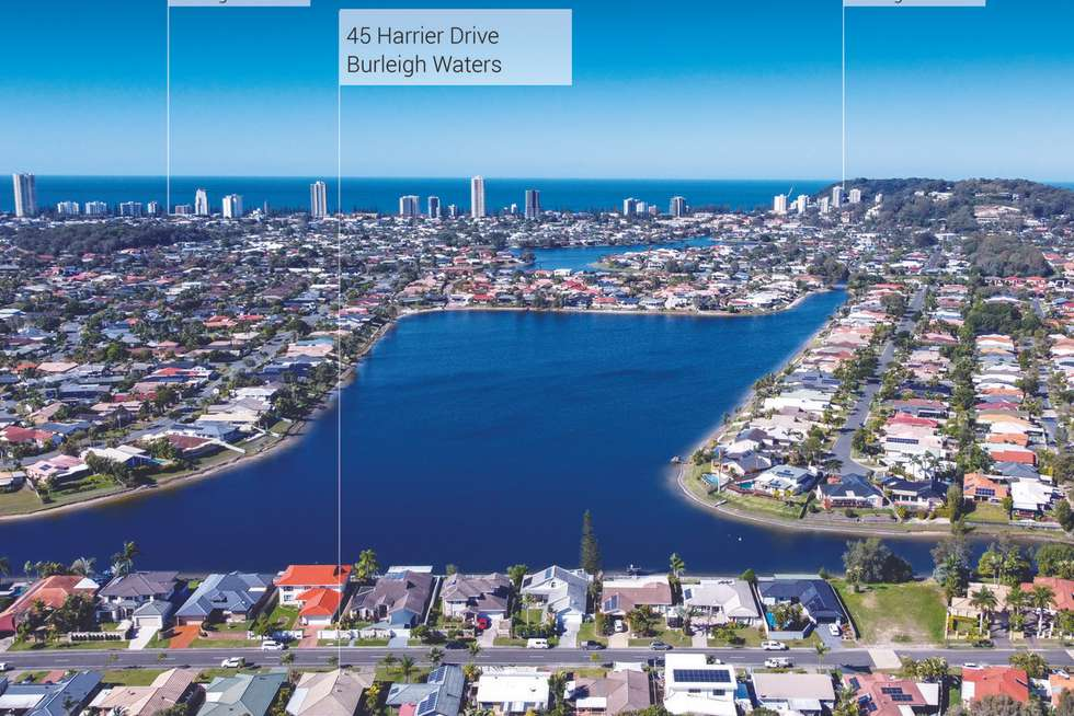 Third view of Homely house listing, 45 Harrier Drive, Burleigh Waters QLD 4220