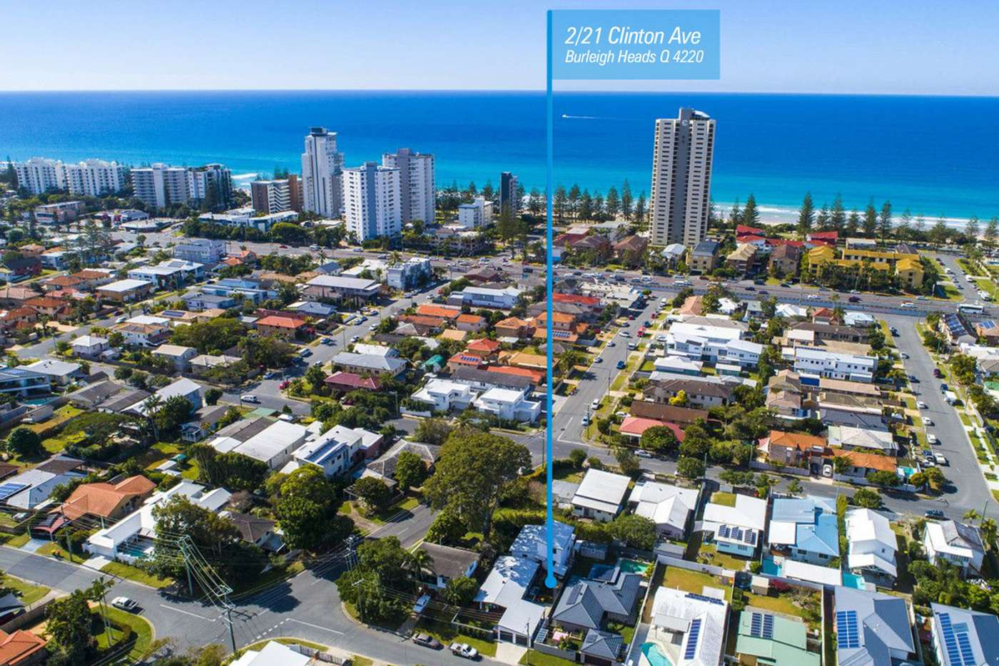 Fifth view of Homely semiDetached listing, 2/21 Clinton Avenue, Burleigh Waters QLD 4220