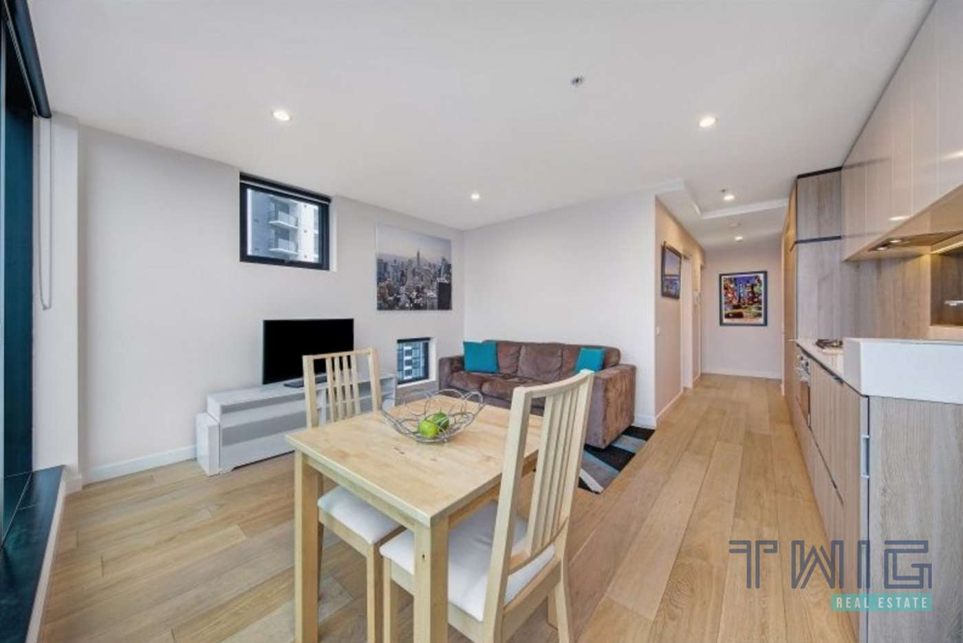 Main view of Homely apartment listing, 1404/58 Clarke Street, Southbank VIC 3006