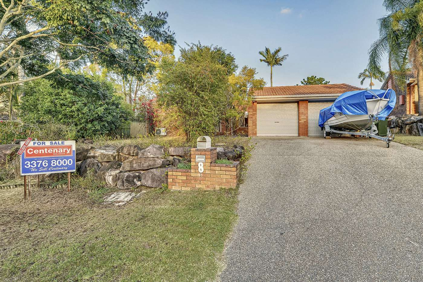 Main view of Homely house listing, 8 Cotter Crescent, Riverhills QLD 4074