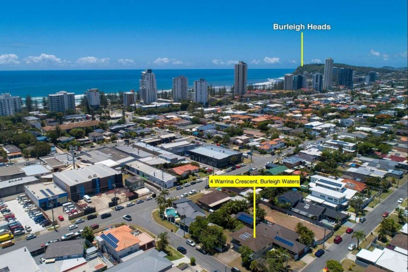 Main view of Homely house listing, 4 Warrina Crescent, Burleigh Waters QLD 4220