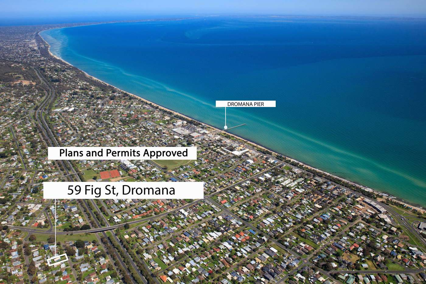 Main view of Homely house listing, 59 Fig Street, Dromana VIC 3936