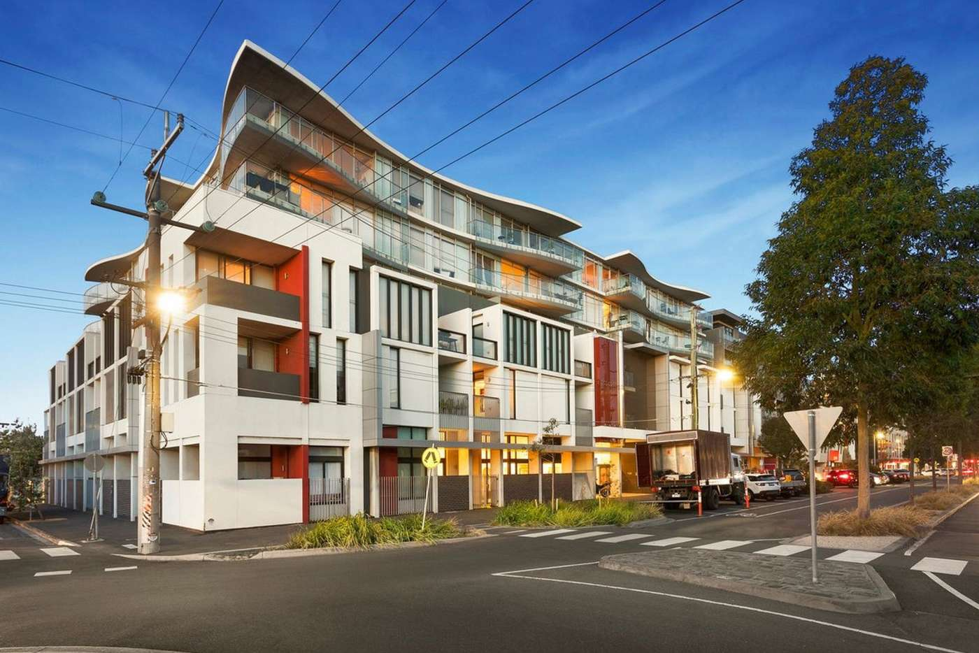 Main view of Homely apartment listing, 210/232-242 Rouse Street, Port Melbourne VIC 3207