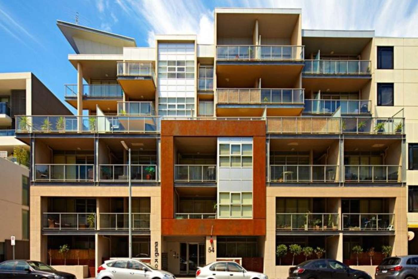 Main view of Homely apartment listing, 411/54 Nott Street, Port Melbourne VIC 3207