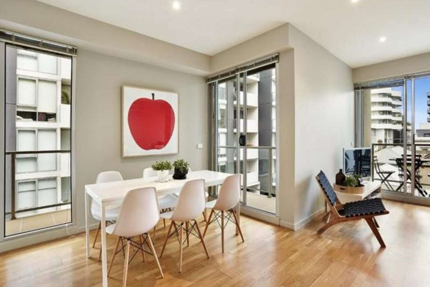 Fifth view of Homely apartment listing, 411/54 Nott Street, Port Melbourne VIC 3207