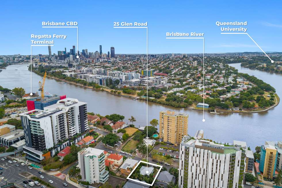 Second view of Homely house listing, 25 Glen Road, Toowong QLD 4066