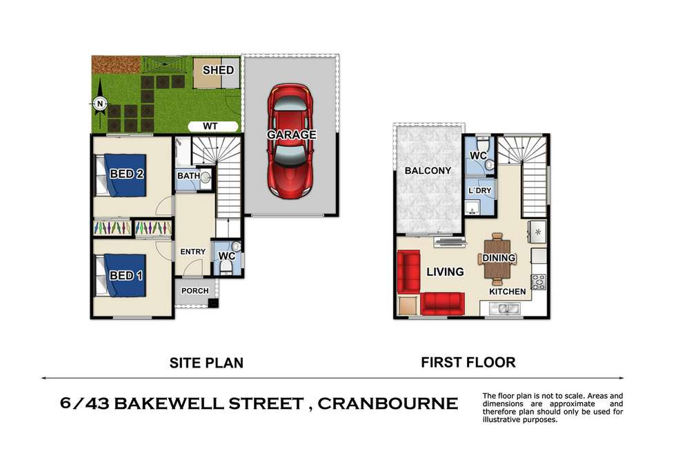 Fourth view of Homely townhouse listing, 6/43 Bakewell Street, Cranbourne VIC 3977