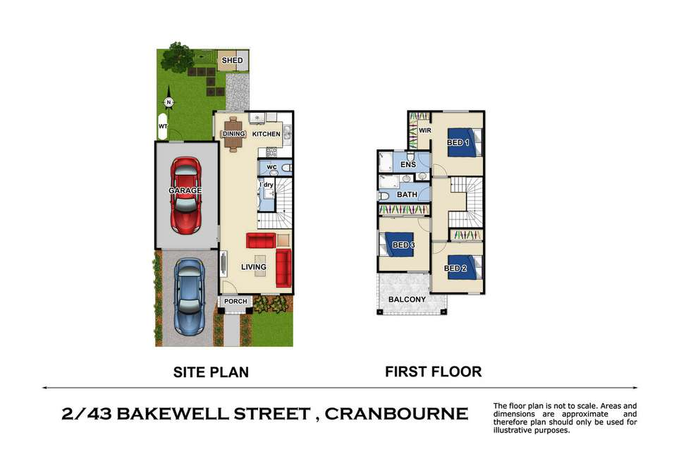 Fourth view of Homely townhouse listing, 2/43 Bakewell Street, Cranbourne VIC 3977