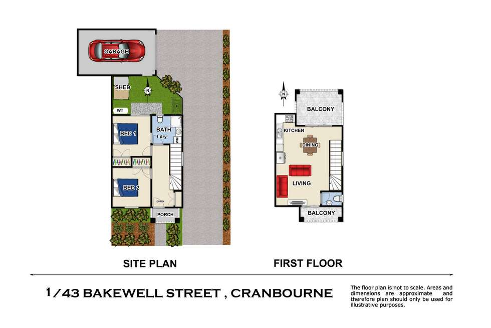 Fourth view of Homely townhouse listing, 1/43 Bakewell Street, Cranbourne VIC 3977