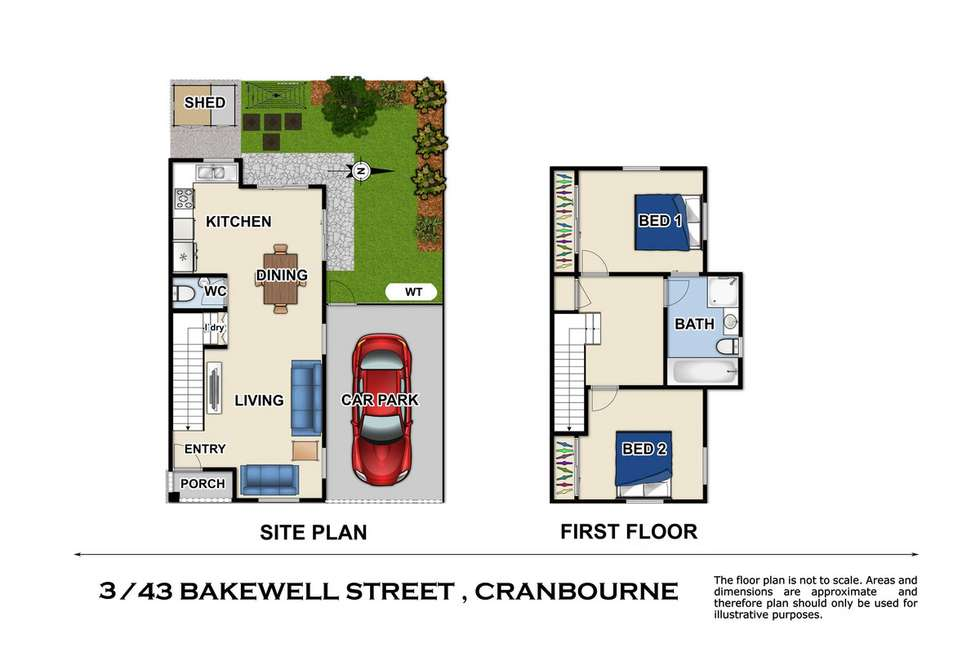Third view of Homely townhouse listing, 3/43 Bakewell Street, Cranbourne VIC 3977