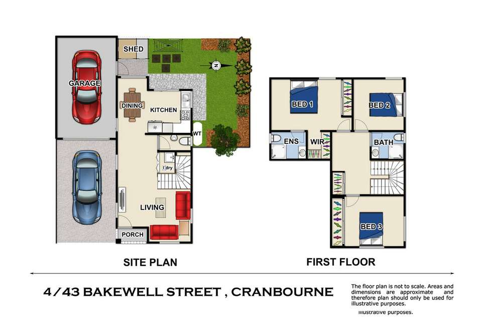 Third view of Homely townhouse listing, 4/43 Bakewell Street, Cranbourne VIC 3977