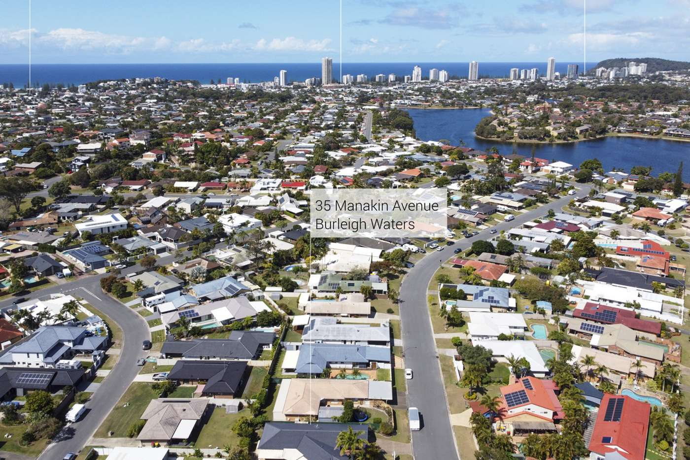 Main view of Homely house listing, 35 Manakin Avenue, Burleigh Waters QLD 4220