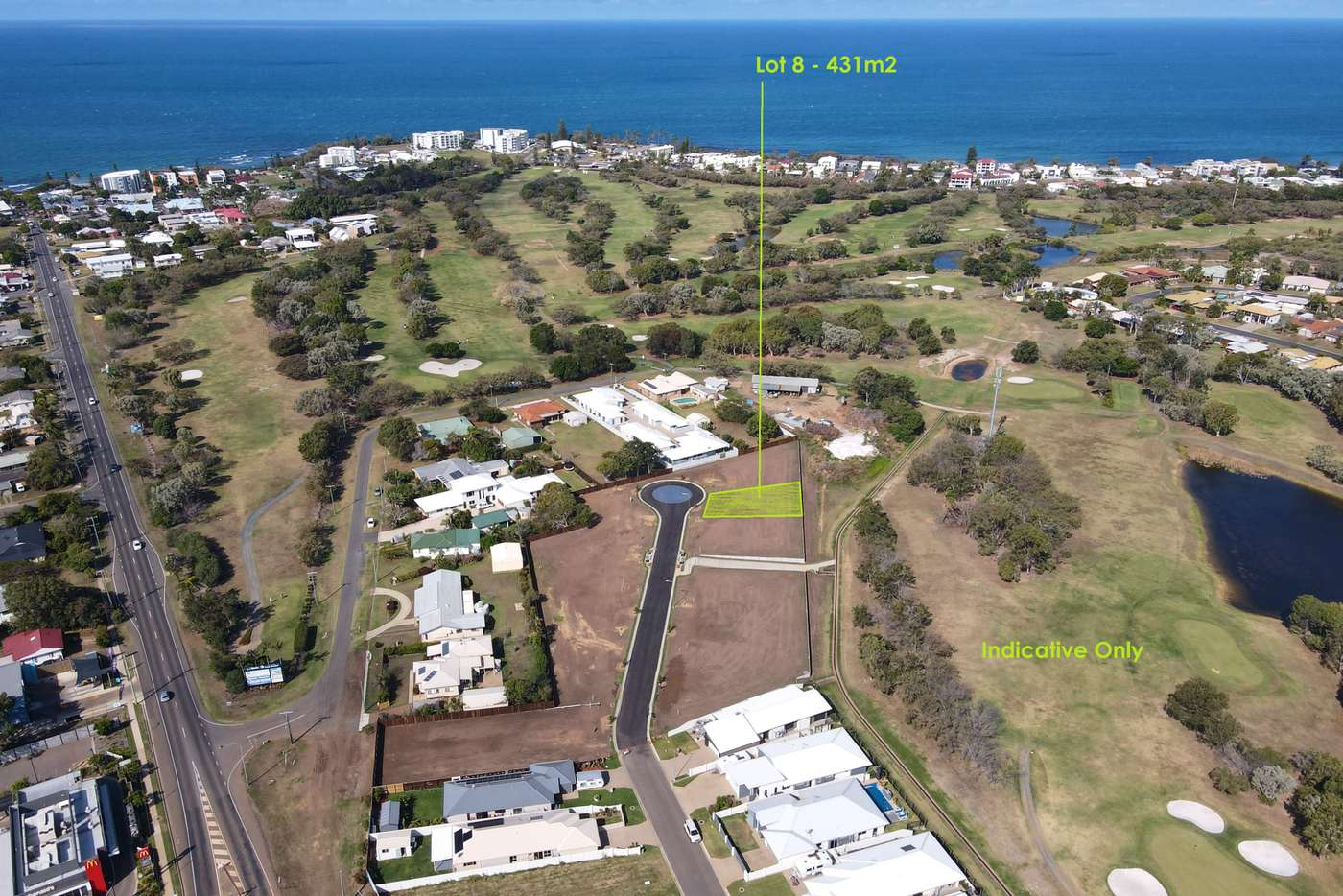 Main view of Homely residentialLand listing, LOT 8 Greenview Drive, Bargara QLD 4670