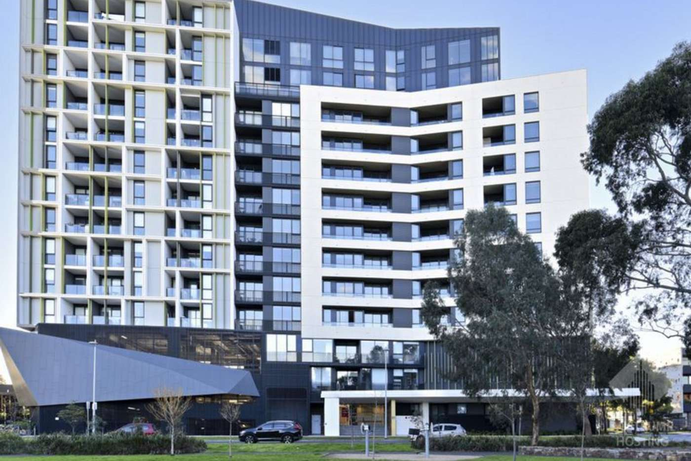 Main view of Homely apartment listing, 802/91 Galada Avenue, Parkville VIC 3052