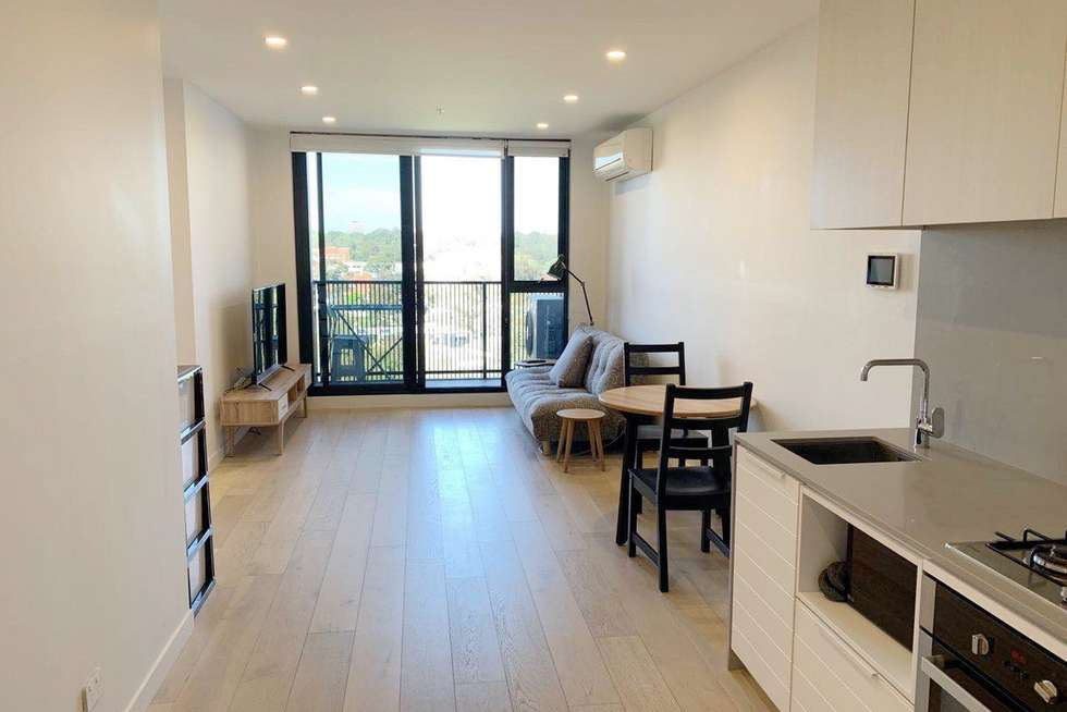 Fourth view of Homely apartment listing, 802/91 Galada Avenue, Parkville VIC 3052