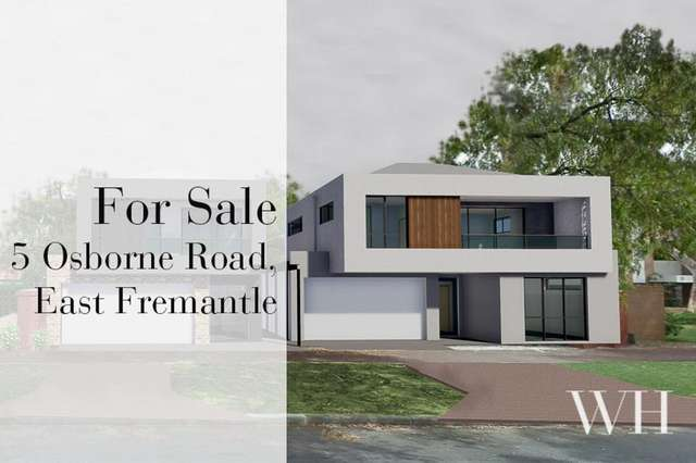 5 Osborne Road, East Fremantle WA 6158