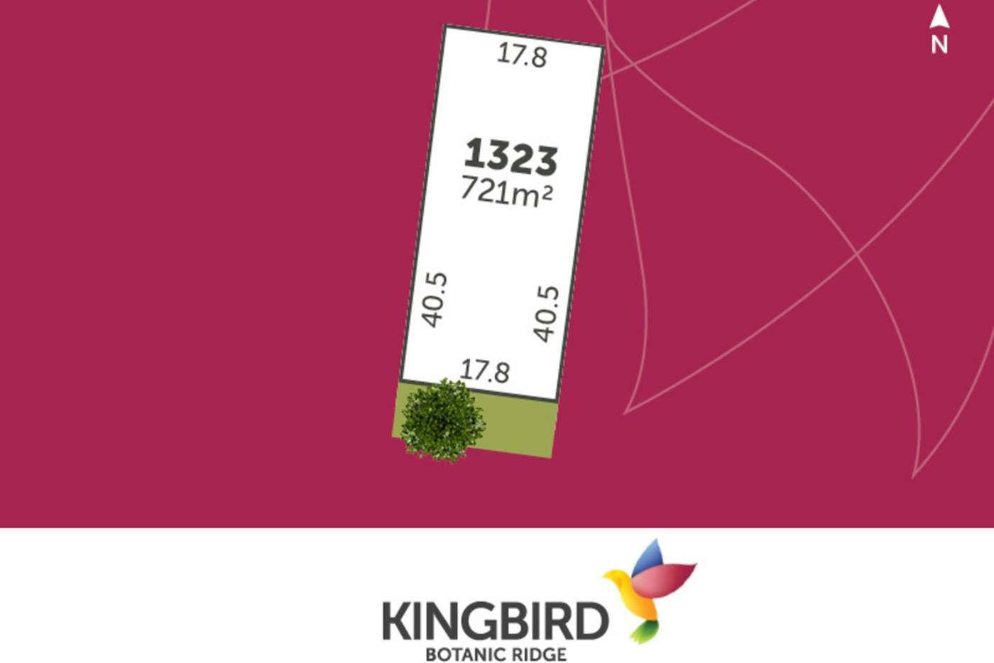 Main view of Homely residentialLand listing, LOT 1323 Gumflats Way, Botanic Ridge VIC 3977